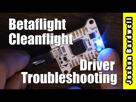 Betaflight / Cleanflight Flight Controller Won't Connect | FIXED