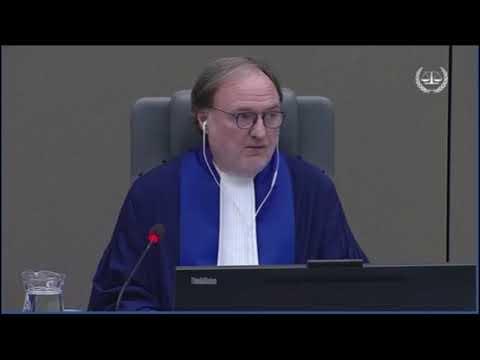 Prononcé des décisions sur les demandes de mise en liberté provisoire et d'acquittement