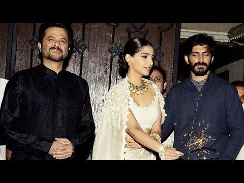 Anil Kapoor Celebrate Diwali With Harshvardhan And