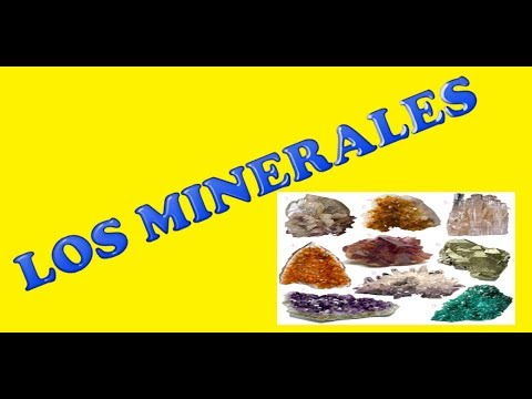 Vídeos Educativos.,Vídeos:Los minerales