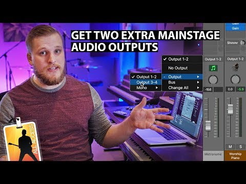 Get Two Extra Audio Outputs for MainStage: Creating an Aggregate Audio Device