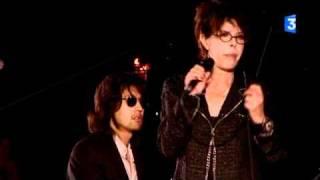 """Dani chante """"Comme un boomerang"""" accompagnée de Lulu Gainsbourg [France 3]"""