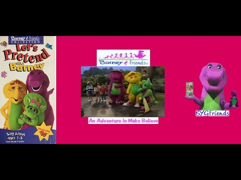 "Barney & Friends Season 2, Episode 15: An Adventure in Make Believe aka ""Let's Pretend"" (1998 VHS)"