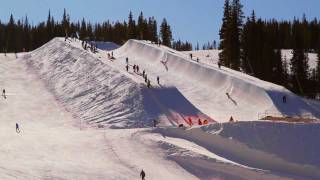 Livin Louie Vito - Snow half-pipe fun - Ep 3