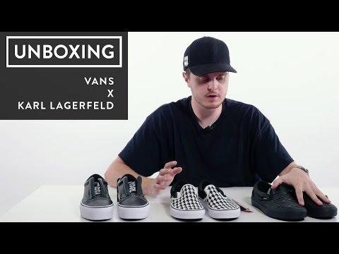 Whitebox: Vans x Karl Lagerfeld