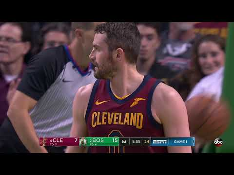 NBA Playoffs - Cleveland at Boston, Game 1 from 05/13/2018