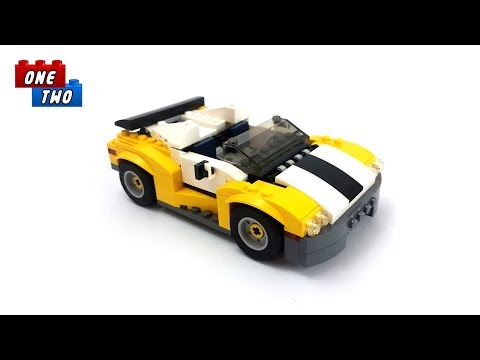 Lego Creator 31046 Fast Car - Lego Speed Build Review