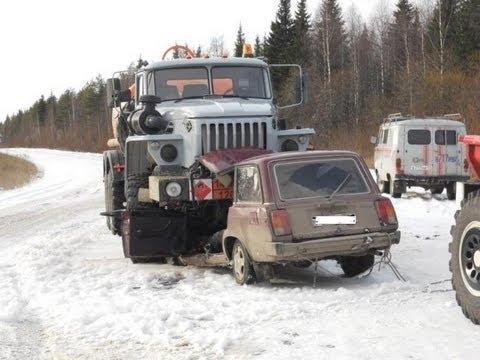 Компиляция аварий января 2013 / видео