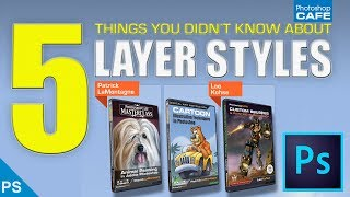 5 PHOTOSHOP LAYER STYLE TIPS you dont know in under 3 mins