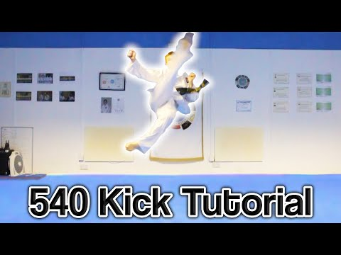 540 - First of all this kick is not for fighting, it is a flashy move and to show your that you can do more advanced kicks. So NO haters please!