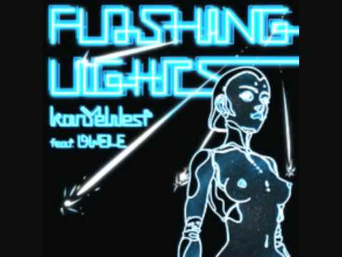 Kanye West- Flashing Lights Instrumental(LYRICS IN DESCRIPTION)