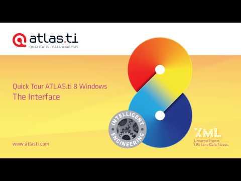ATLAS ti 8 Windows-Interface Overview