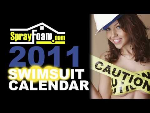 Spray Foam Calendar Promotion