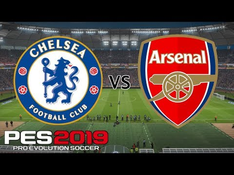 Chelsea Vs Arsenal - UEFA Europa League Final 2019 - PES 2019