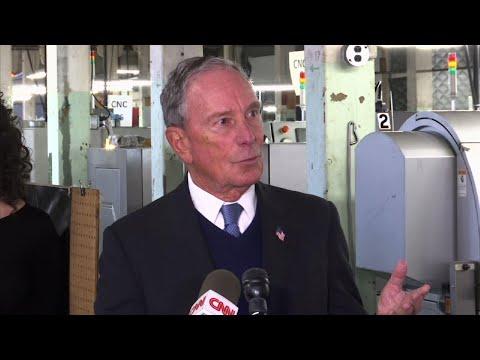 Bloomberg opens door to 2020 presidential bid