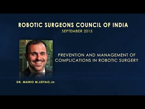 Prevention and Management of Complications in Robotic Surgery