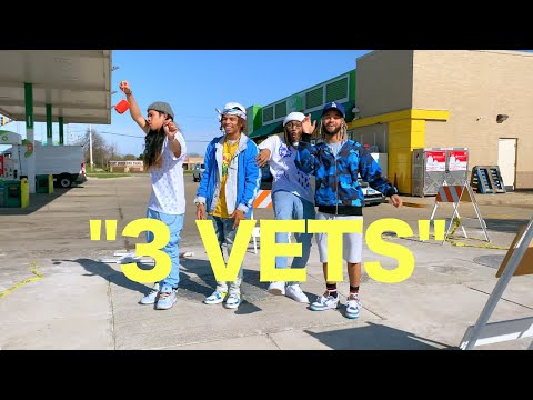 """""""3 VETS"""" - The Future Kingz (Official Music Video)"""
