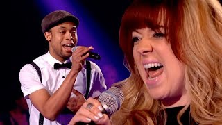 CJ Edwards Vs Leah McFall | The Voice UK - BBC