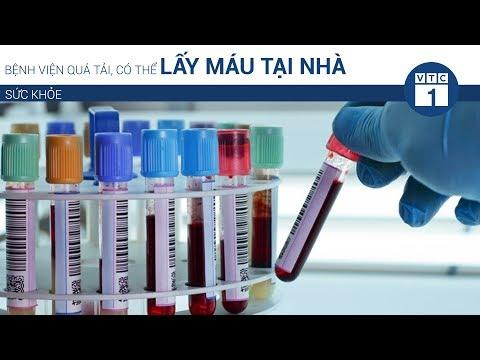 Bệnh viện quá tải, có thể lấy máu tại nhà | VTC1 - Thời lượng: 55 giây.