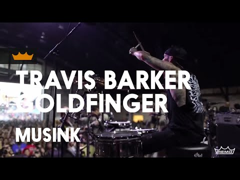 Remo + Travis Barker / Goldfinger: 99 Red Balloons - Musink 2017
