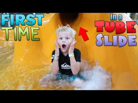 Indoor Water Park Play Day at Wild Water Dome (видео)