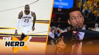 "Chris Broussard joined Doug Gottlieb to discuss Mayweather vs. McGregor, if LeBron james knows where he will retire and O.J. Simpson's parole hearing.SUBSCRIBE to get all the latest content from The Herd: http://foxs.pt/SubscribeTHEHERD  ►Watch the latest content from The Herd: http://foxs.pt/LatestOnTheHerd ►Watch the latest content from Kristine Leahy: http://foxs.pt/LeahyOnHerd ►Watch our favorite content on ""Best of The Herd"": http://foxs.pt/BestOnTheHerd ►UNDISPUTED's YouTube channel: http://foxs.pt/SubscribeUNDISPUTED ►Speak for Yourself's YouTube channel: http://foxs.pt/SubscribeSPEAKFORYOURSELF See more from THE HERD: http://foxs.pt/THEHERDFoxSports Like THE HERD on Facebook: http://foxs.pt/THEHERDFacebook Follow THE HERD on Twitter: http://foxs.pt/THEHERDTwitter Follow THE HERD on Instagram: http://foxs.pt/THEHERDInstagram Follow Colin Cowherd on Twitter: http://foxs.pt/ColinCowherdTwitter Follow Kristine Leahy on Twitter: http://foxs.pt/KristineLeahyTwitter  About The Herd with Colin Cowherd:The Herd with Colin Cowherd is a three-hour sports television and radio show on FS1 and iHeartRadio. Every day, Colin will give you his authentic, unfiltered opinion on the day's biggest sports topics, and co-host Kristine Leahy will bring you the latest breaking sports news.Chris Broussard on where Lebron will finish career, O.J. Simpson hearing and more  THE HERDhttps://youtu.be/m5OnlKybl1MThe Herd with Colin Cowherdhttps://www.youtube.com/c/colincowherd"