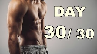 The Last Day 30/30 Abs Workout (30 Days Abs Workout) Home Workout