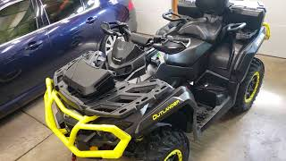 8. 2019 Can-Am Outlander Max XT-P 1000 power steering solved.