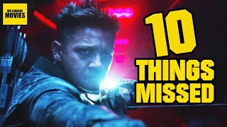 Avengers: Endgame Trailer 2 - Easter Eggs & Things Missed