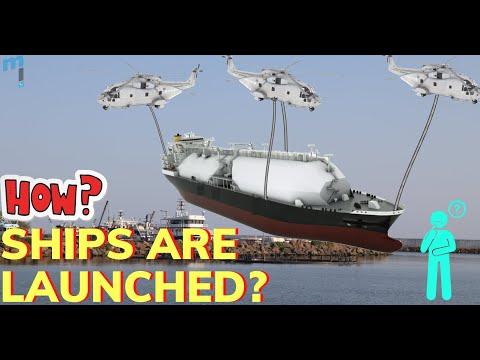 Ship Launching Methods #shiplaunch #airbag #ship