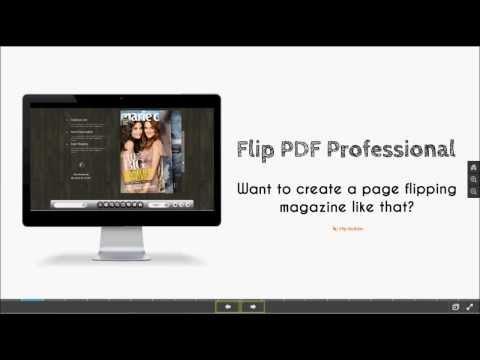 Understand Flip PDF Professional in 3 Minutes