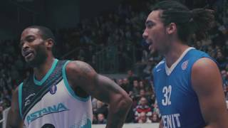 Hightlits of the match VTB United league: «Zenit» — «Astana»