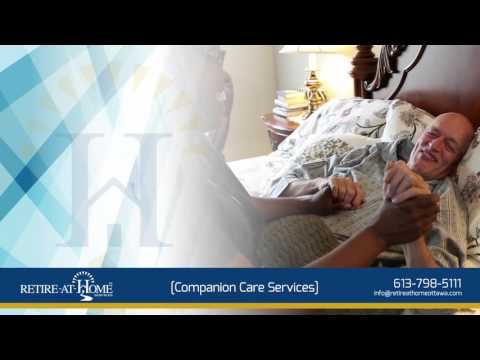 Companion Care Services - Retire-At-Home Ottawa