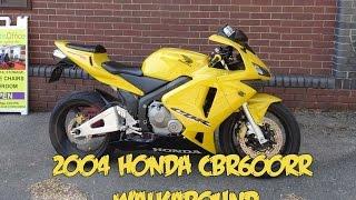 10. 2004 Honda CBR600RR Walkaround Yellow & Black