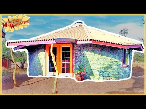 The Family Builds Earthbag Building with Underground Studio   $7000 Cost   Full Version Movie