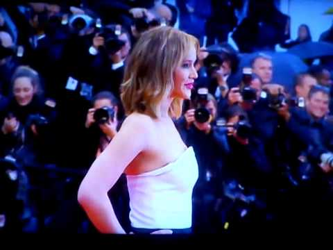red carpet - Montée des marches du Festival de Cannes du cast d'Hunger Games : Catching Fire à l'occasion de la présentation en sélection officielle du film Jimmy P.