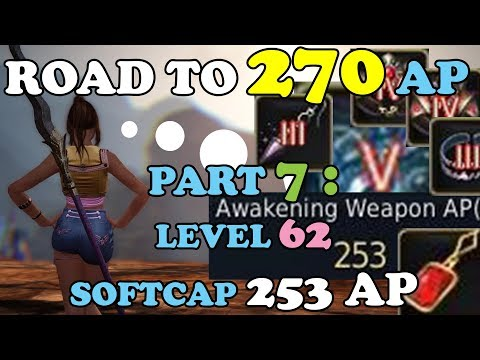 BDO - Road To 270 AP Part 7: Level 62 AND Softcap 253 AP