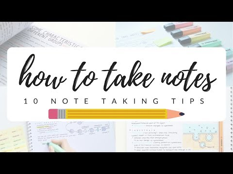 Video How to take efficient and neat notes - 10 note taking tips | studytee download in MP3, 3GP, MP4, WEBM, AVI, FLV January 2017