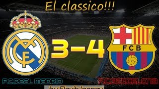 Обзор матча Реал-Барселона 23.01.2014 . Самый лучший матч этого сезона 2013-2014!!