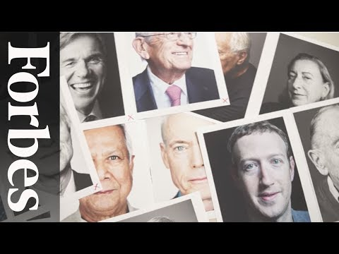 The Making Of The 100 Greatest Living Business Minds