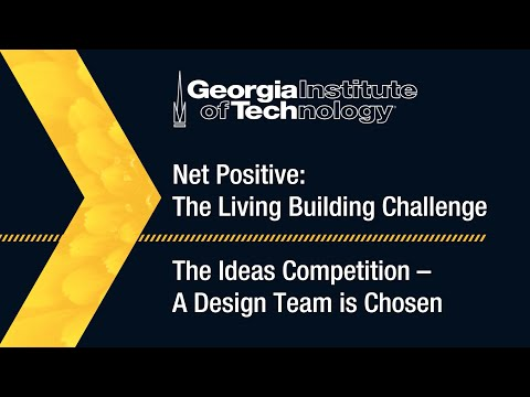 Team Selected to Design the Living Building at Georgia Tech