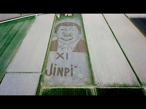 Ιταλία: Καλλιτέχνης έφτιαξε με τρακτέρ πορτραίτο του Σι Τζινπίνγκ…