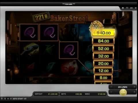 221B Baker Street™ Merkur Slots Online Game