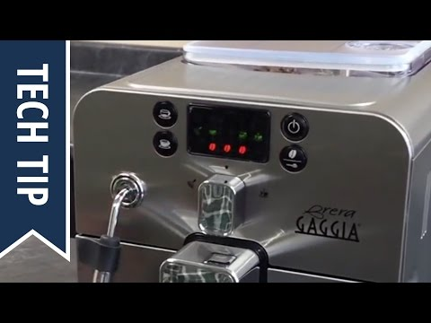 How To Adjust Grind and Strength Settings on a Gaggia Brera