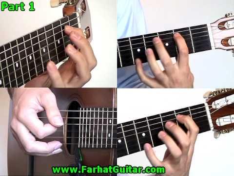 Vivir sin Aire Mana - Parte 1 Leccion Guitarra www.FarhatGuitarra.com
