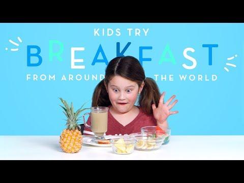 Child Food Critics: Kids Taste Foreign Breakfasts