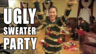 Watch in HD - Ugly Sweater Party VLOGPrevious vlog  https://youtu.be/uUBXEdWYunI• • • • • • • • • • • S U M M A R Y• • • • • • • • • • • + Long overdue video, i know... since I've been out of the country... didn't have much time on editing the vlogs. But here is a Christmas Eve's Ugly Sweater Gathering [Dec 24, 2015]+ Bean Boozled Challenge with the crew• • • • • • • • • C O N N E C T  W / M E • • • • • • • • • + INSTAGRAM: http://www.instagram.com/lyndeezle+ SNAPCHAT: Lyndeezle• • • • • • • • • • • •  • • • • • • • • • • • • FTC: This is NOT a sponsored video yo!