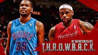 Lebron James vs Kevin Durant Full Duel Highlights 2012.12.25 Heat vs Thunder - Christmas Battle!