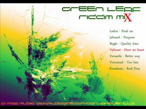 Green Leaf Riddim Mix [mar 2012] [rat Trap Music - Green Leaf Production]