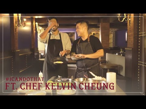 'Learning to cook' ft. Chef Kelvin Cheung | I Can Do That Ep 1